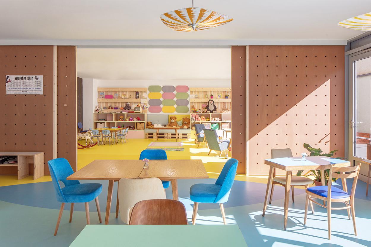 Sala Giochi Per Bambini : Caffè ristorante con sala giochi per bambini praga